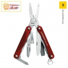 Мультитул LEATHERMAN SQUIRT ES4 RED 831198