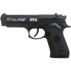 Пистолет пневматический Stalker S92 (Beretta 92, металл) 120 м/с