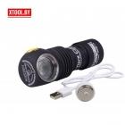 Фонарь Armytek Tiara C1 Magnet USB XP-L (теплый свет)+18350 Li-Ion