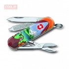 Нож-брелок VICTORINOX CLASSIC Call of Nature 0.6223.L1802