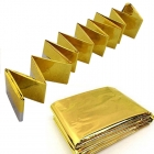 Спасательное термоодеяло Vertex essentials Emergency Blanket Gold
