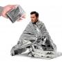 Спасательное термоодеяло Vertex essentials Emergency Blanket Silver