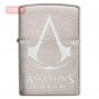 Зажигалка Zippo Assassins Creed Logo - Brushed Chrome