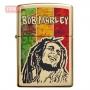 Зажигалка Zippo Bob Marley Fusion High Polish Brass
