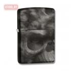 Зажигалка Zippo Soft Touch Smoke Skull