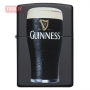 Зажигалка Zippo Guinness® Stout Pint Glass - Black Matte