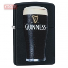 Зажигалка Zippo Guinness® Stout Pint Glass - Black Matte