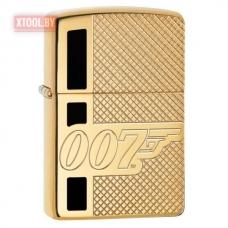 Зажигалка Zippo James Bond 007 Gun Logo