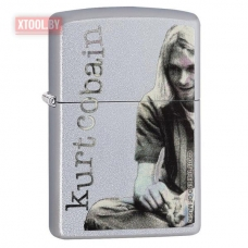 Зажигалка Zippo Kurt Cobain