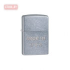Зажигалка Zippo Made in USA Embossed Pipe