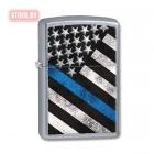 Зажигалка Zippo Police Flag