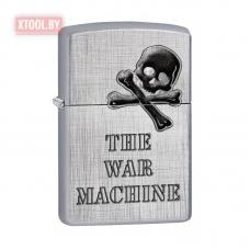 Зажигалка Zippo The War Machine - Linen Weave