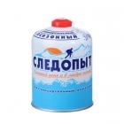 Газовый баллон СЛЕДОПЫТ 450g (резьбовой)